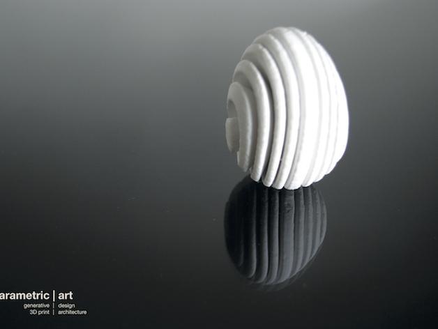参数化复活节彩蛋  3D模型  图3
