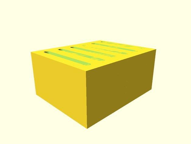 弹簧装置的SD卡卡槽 3D模型  图2