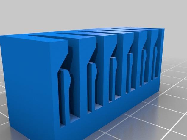 弹簧装置的SD卡卡槽 3D模型  图3