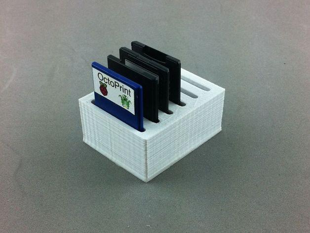 弹簧装置的SD卡卡槽 3D模型  图5