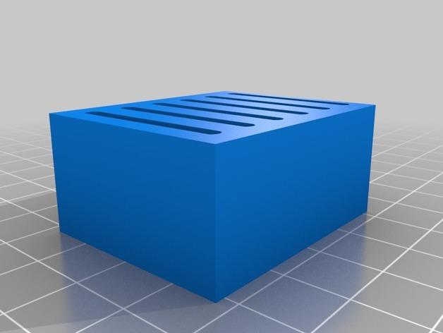 弹簧装置的SD卡卡槽 3D模型  图4