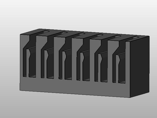 弹簧装置的SD卡卡槽 3D模型  图6
