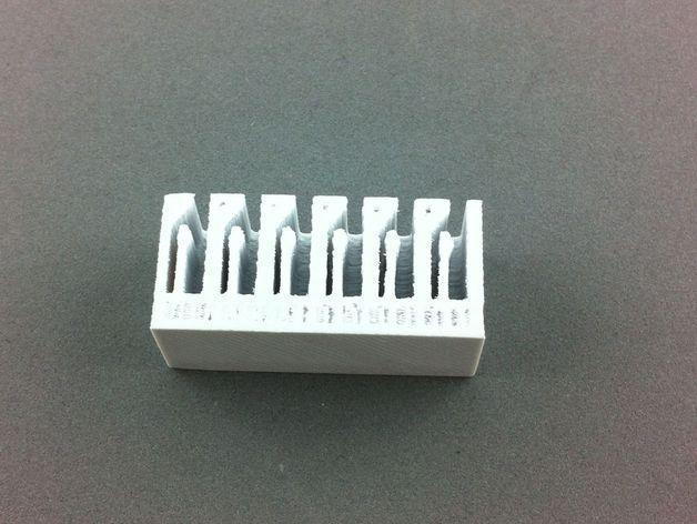 弹簧装置的SD卡卡槽 3D模型  图7