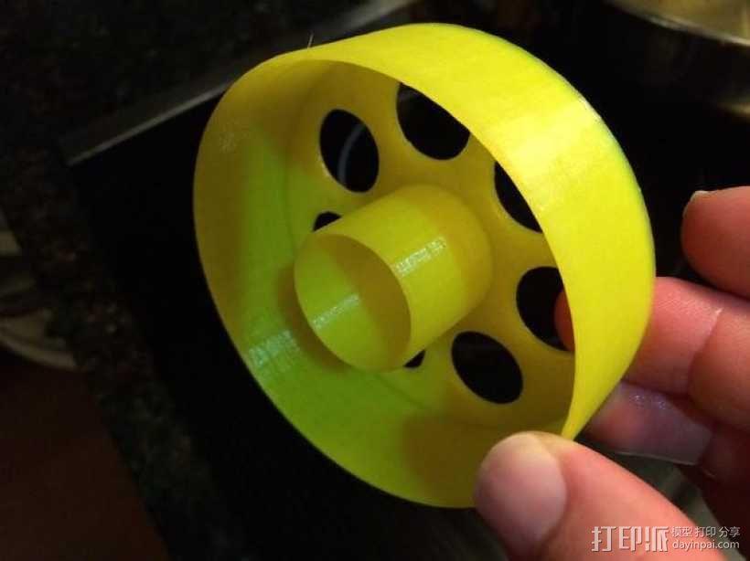 甜甜圈成型环 3D模型  图1