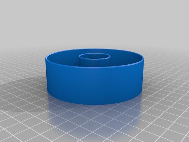 甜甜圈成型环 3D模型  图2