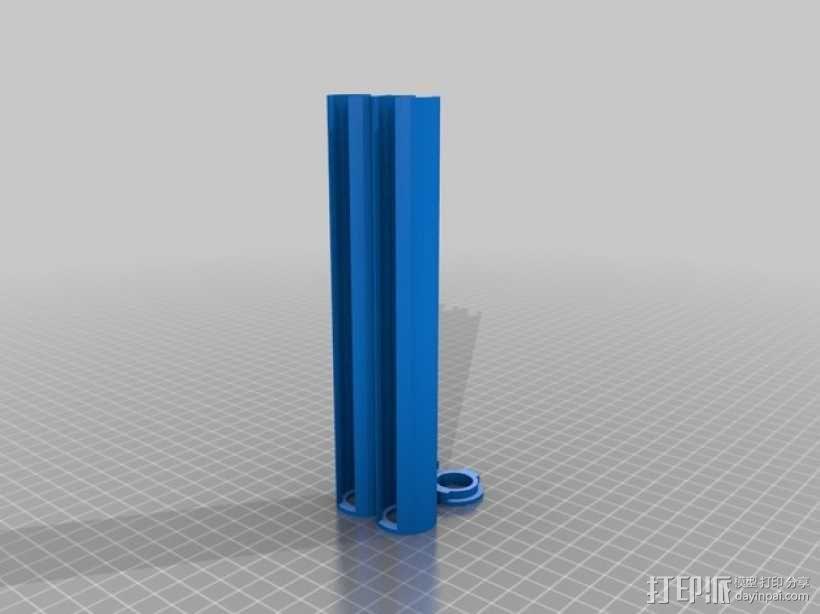 200便士 3D模型  图1