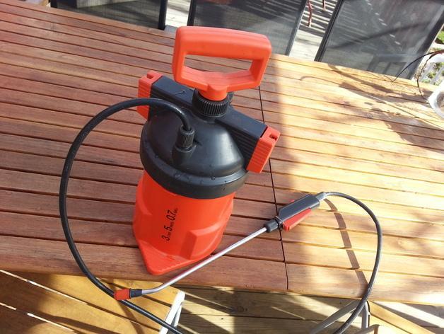 压力喷雾机垫圈 3D模型  图5