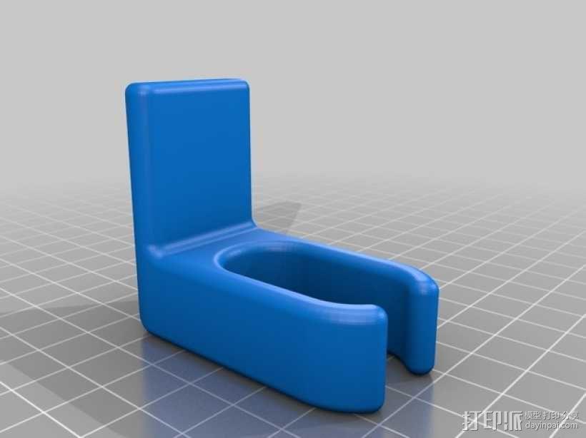 婴儿车包袋夹 3D模型  图1