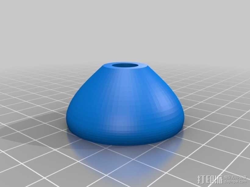 可调节的桌腿  3D模型  图3