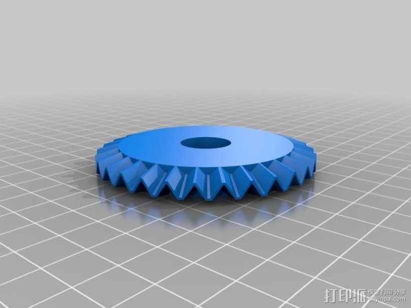 意大利面铣刀 3D模型  图2