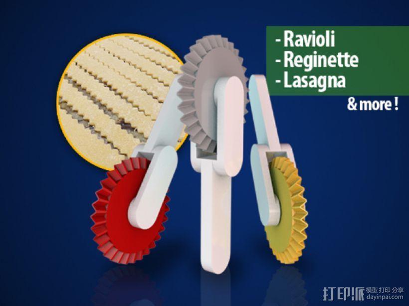 意大利面铣刀 3D模型  图1
