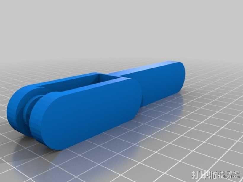 意大利面铣刀 3D模型  图3