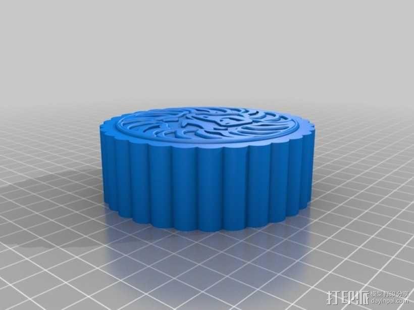 月饼 3D模型  图2