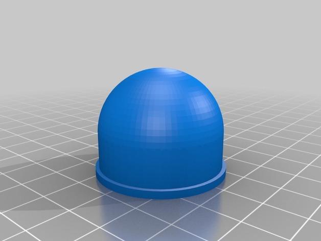 塑料瓶螺帽 3D模型  图3