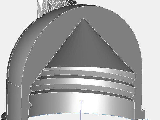 塑料瓶螺帽 3D模型  图4