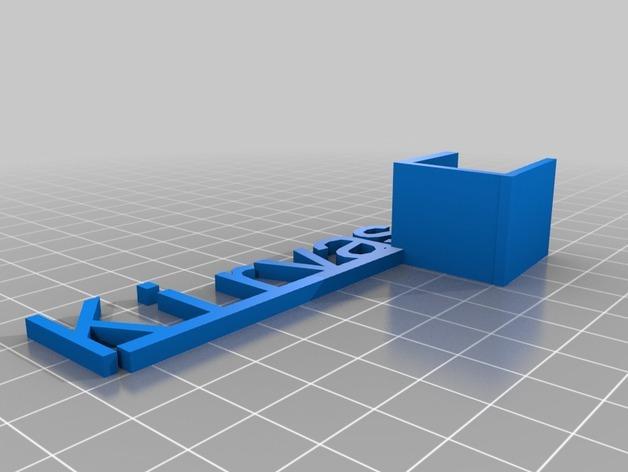商品促销架 3D模型  图1