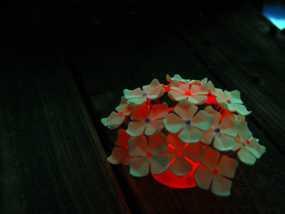 绣球LED灯 3D模型