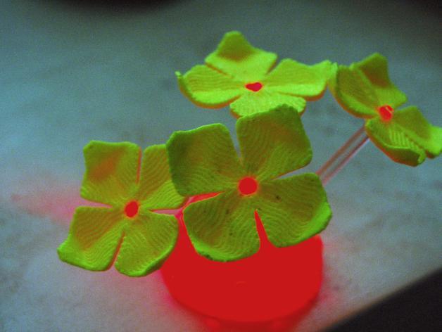 绣球LED灯 3D模型  图5