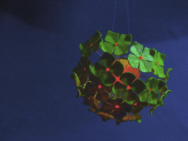 绣球LED灯 3D模型  图4