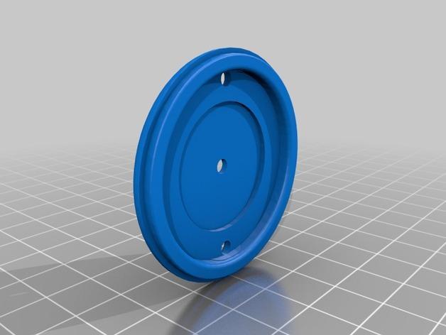 绣球LED灯 3D模型  图8