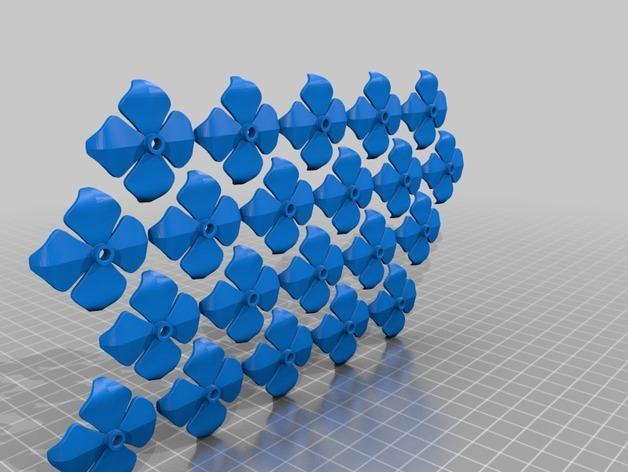 绣球LED灯 3D模型  图9