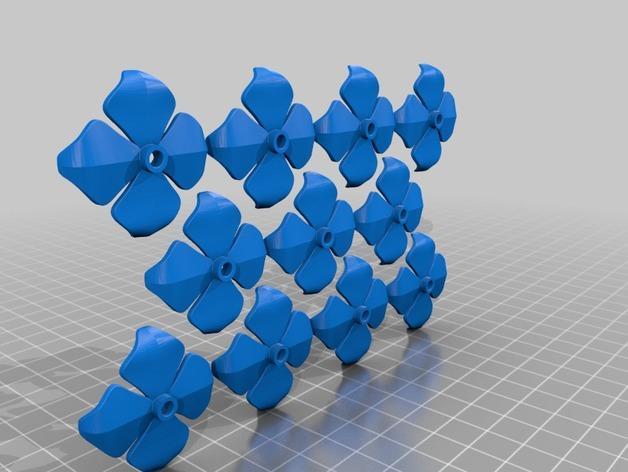 绣球LED灯 3D模型  图10