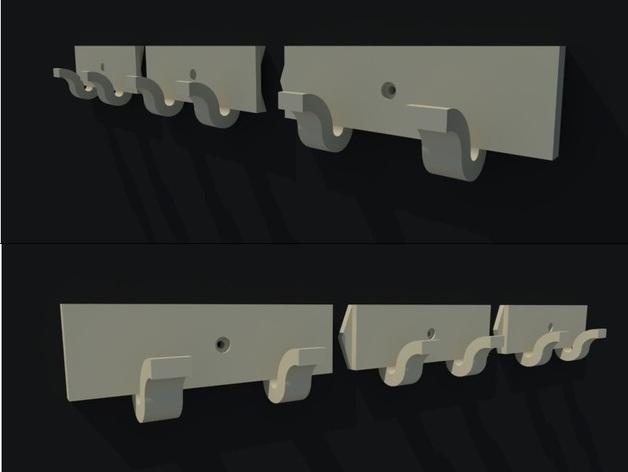 可拆卸墙壁挂钩 3D模型  图5