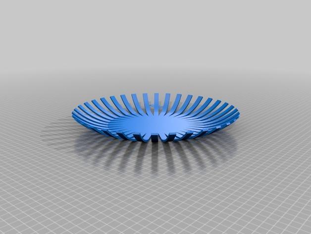 果盘 3D模型  图2