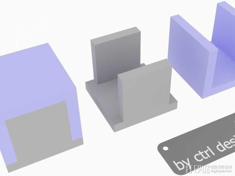 寿司方块 3D模型  图1