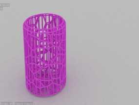 搅拌器细胞断裂试验 3D模型
