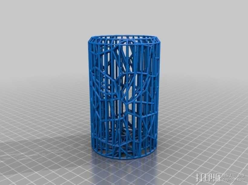 搅拌器细胞断裂试验 3D模型  图2