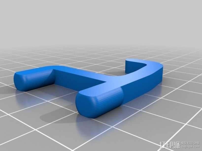 小挂钩 3D模型  图2