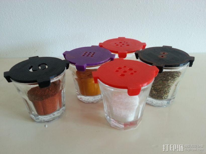宜家小酒杯-调料瓶 3D模型  图1