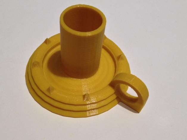 烛台 3D模型  图1