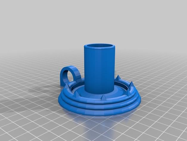 烛台 3D模型  图2