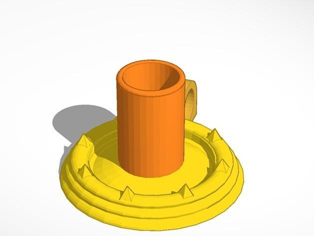 烛台 3D模型  图3