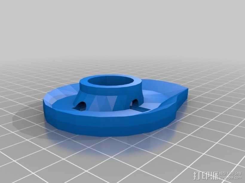 猫咪饮水器 3D模型  图3
