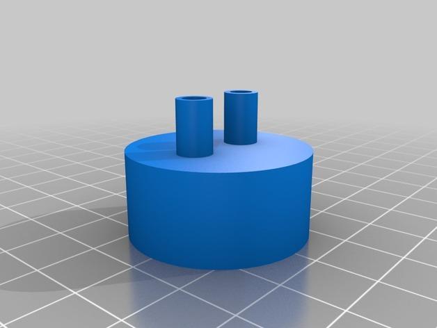 有吸管的瓶盖 3D模型  图3