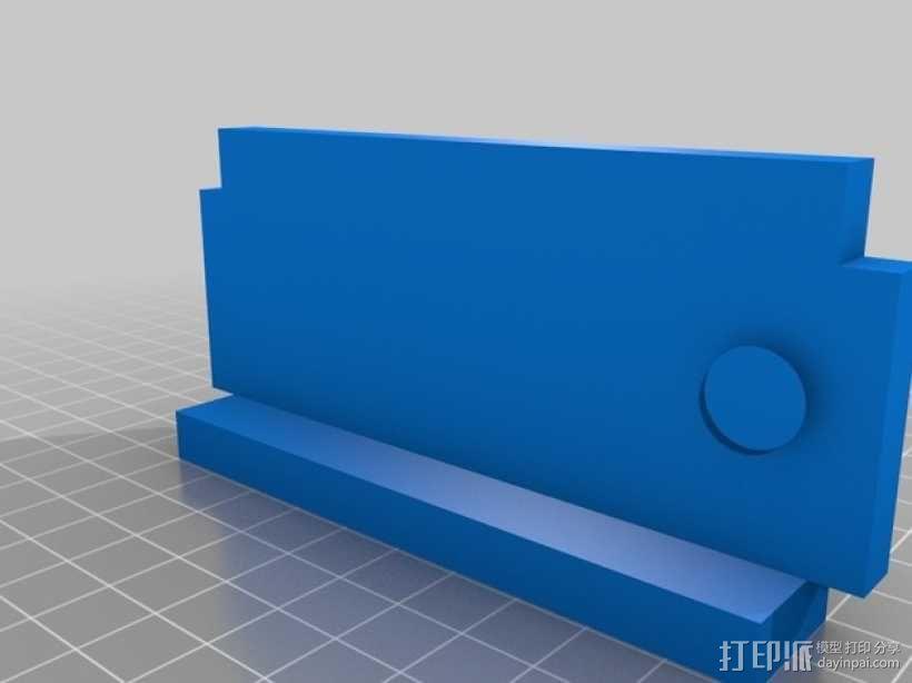 肉饭团切片器 3D模型  图5