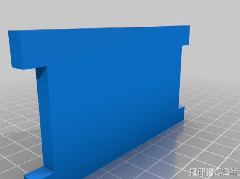 肉饭团切片器 3D模型  图4