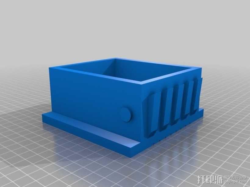 肉饭团切片器 3D模型  图3