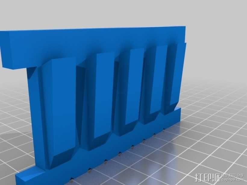 肉饭团切片器 3D模型  图7