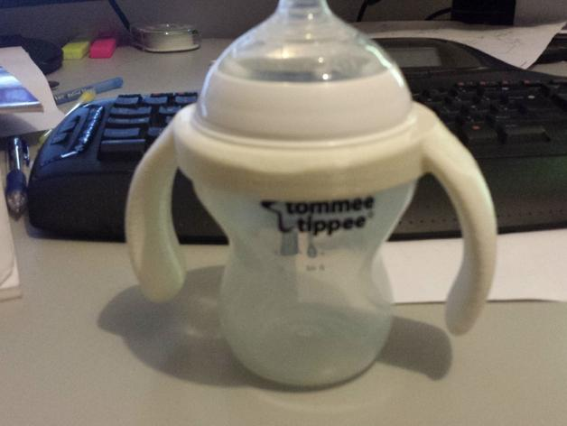 Tommee Tippee奶瓶手柄 3D模型  图3
