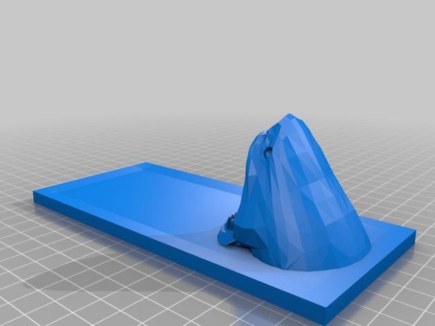 鲨鱼寿司盘 3D模型  图3