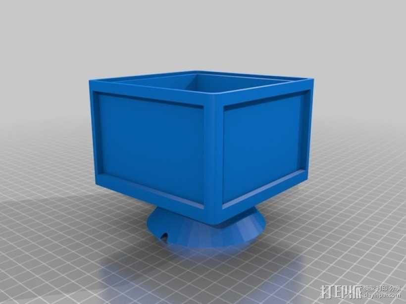灯饰发光盒 3D模型  图3