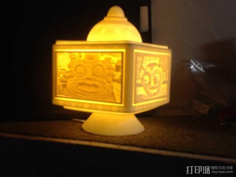 灯饰发光盒 3D模型  图5