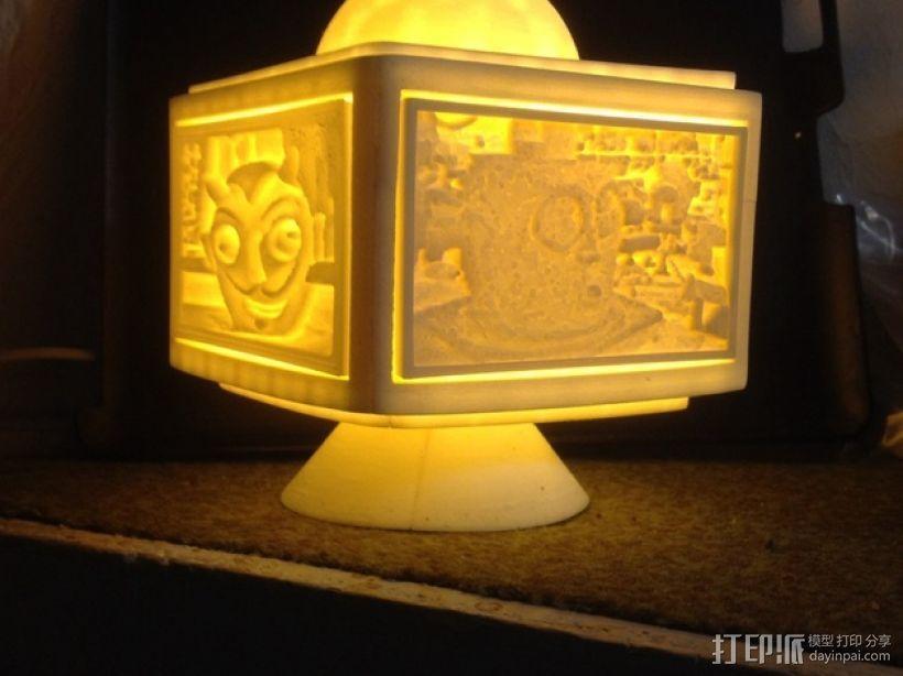 灯饰发光盒 3D模型  图6