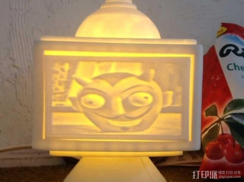 灯饰发光盒 3D模型  图11