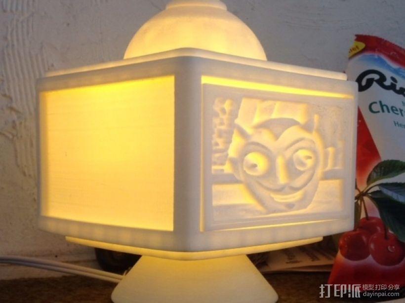 灯饰发光盒 3D模型  图10
