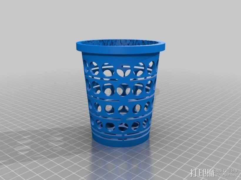 水培植物容器 3D模型  图1